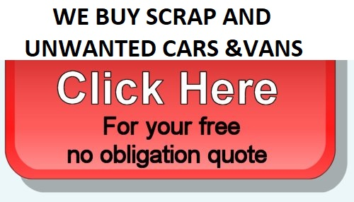 Turn your Scrap car into cash - your free no obligation quote is only a click away